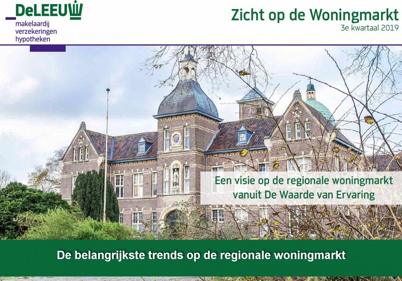 De belangrijkste trends op de regionale woningmarkt in het werkgebied van De Leeuw Makelaardij