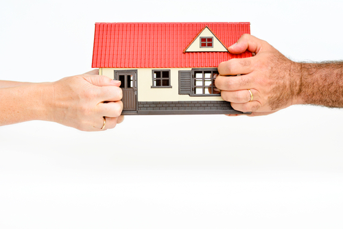 scheiden en huis